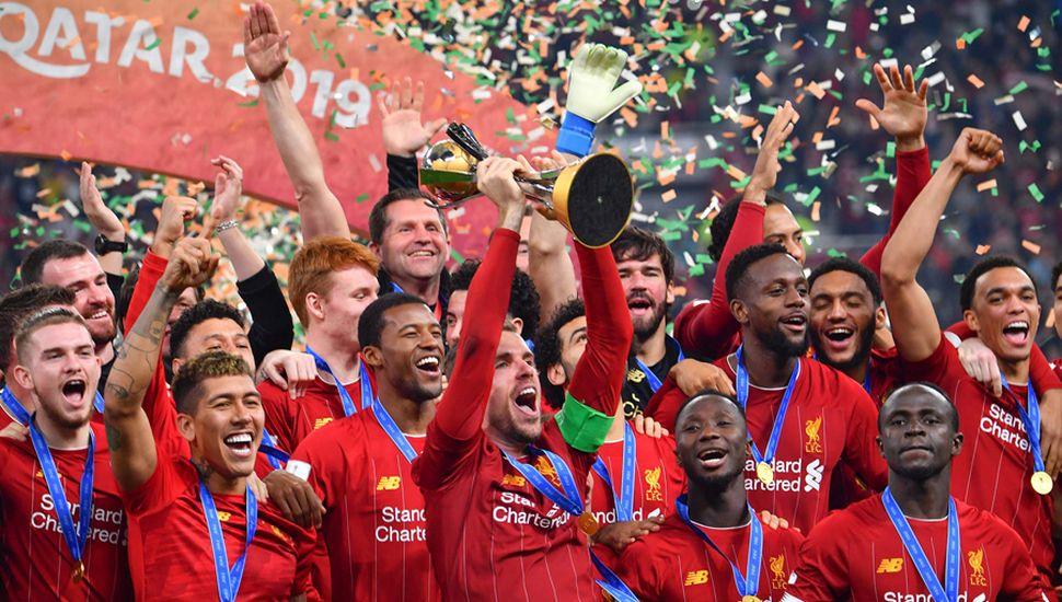 Liverpool festejó a nivel mundial por primera vez en su historia.