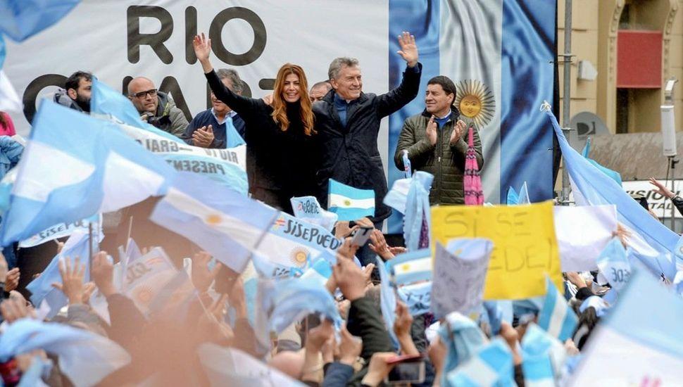 """Macri en Río Cuarto: """"Amagamos, pero no volvemos al pasado"""""""