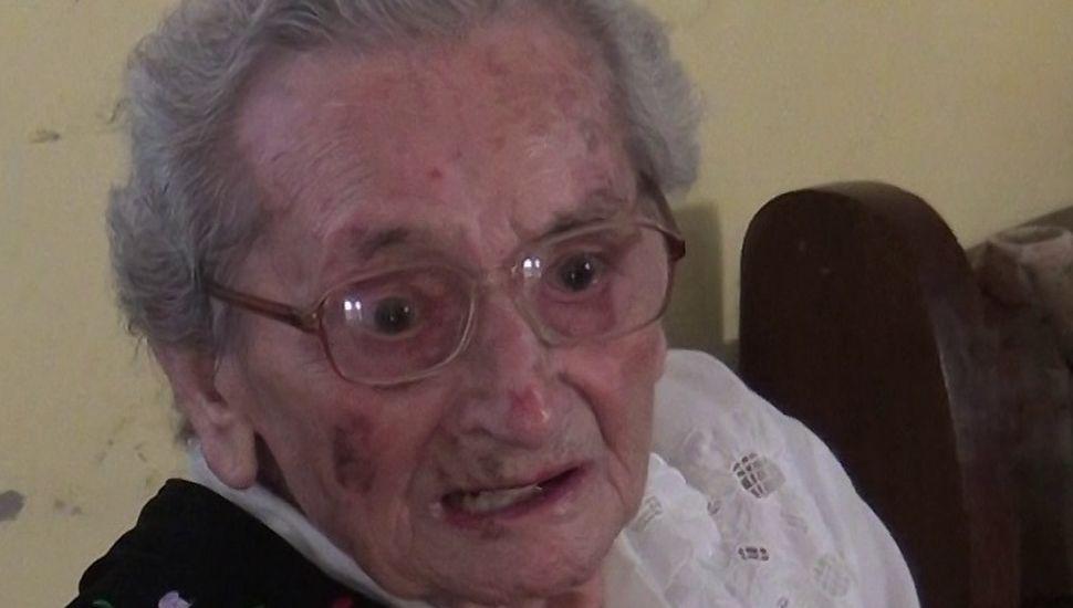 Cumplió 105 años la vecina más longeva de Rojas