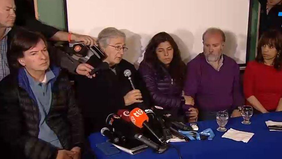 """Sergio Maldonado: """"No podemos confirmar si es el cuerpo de Santiago o no"""""""