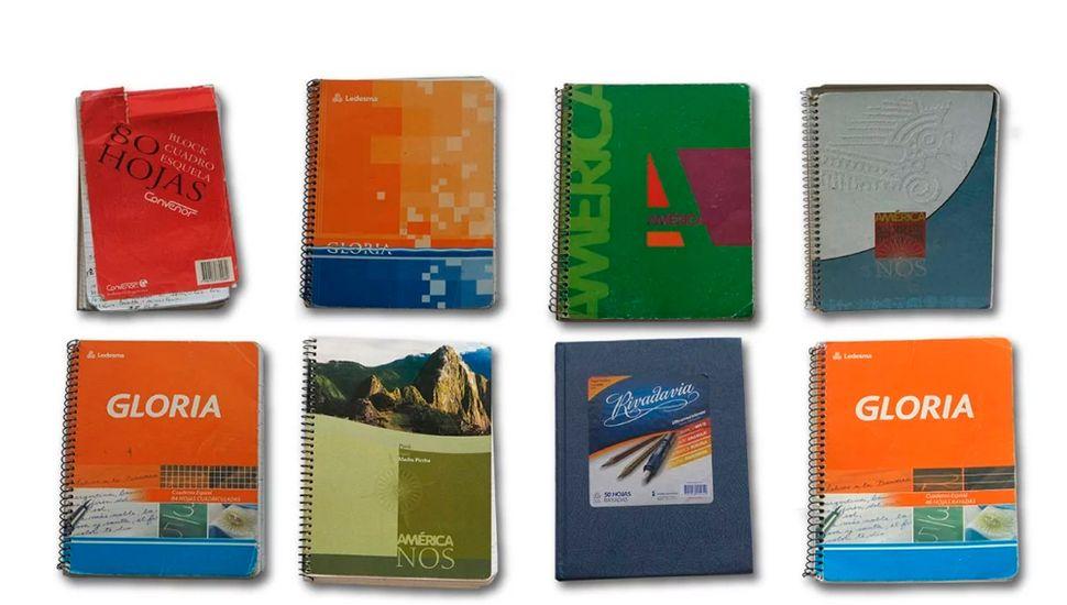 Analizan seis cuadernos  que serían los de Centeno