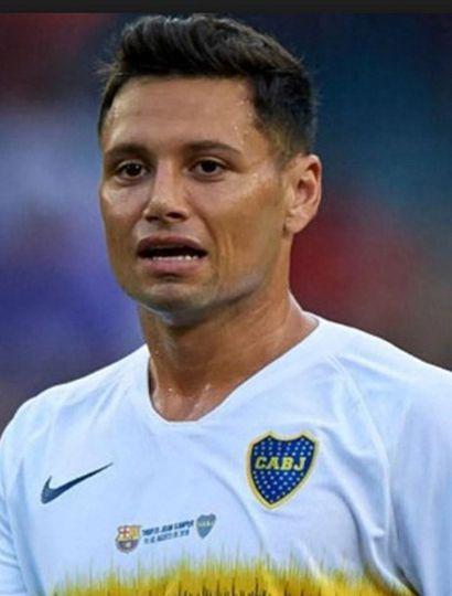 "Mauro Zárate, delantero de Boca ""odiado""."
