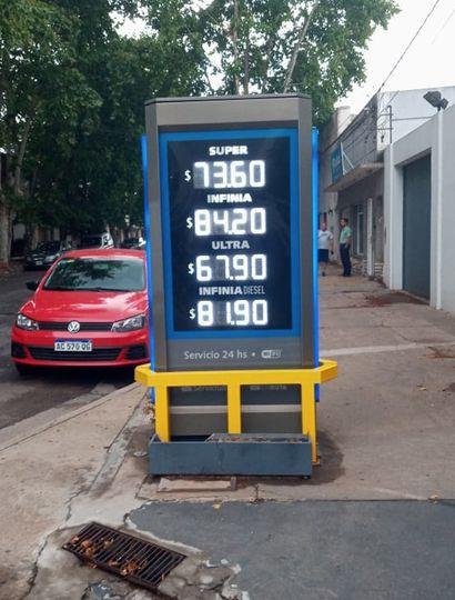 Los precios actualizados en Junín.