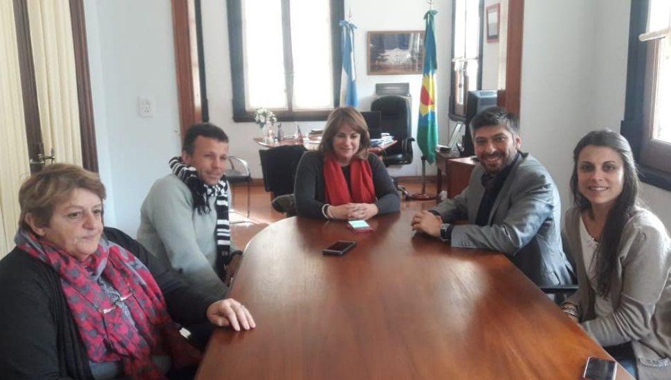 El director provincial de Consejos Escolares visitó Arenales