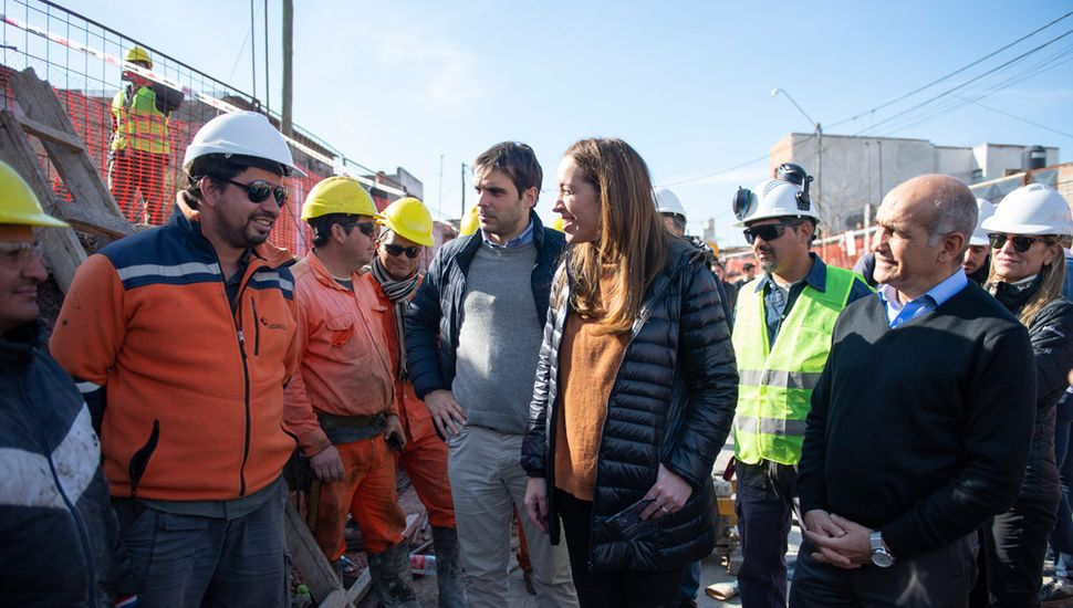 Vidal resaltó la obra pública y la gestión en una recorrida por Pergamino y San Nicolás.