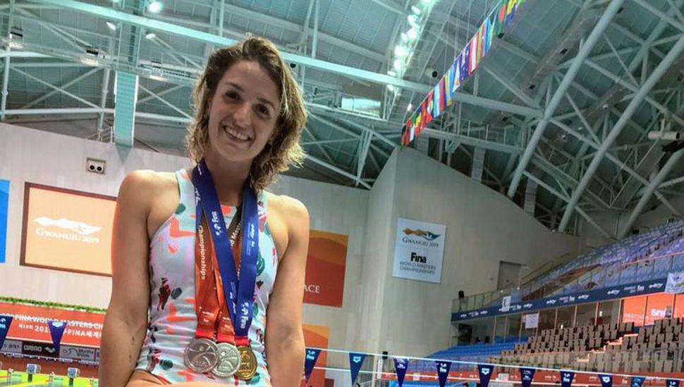 Manuela Morano nadadora