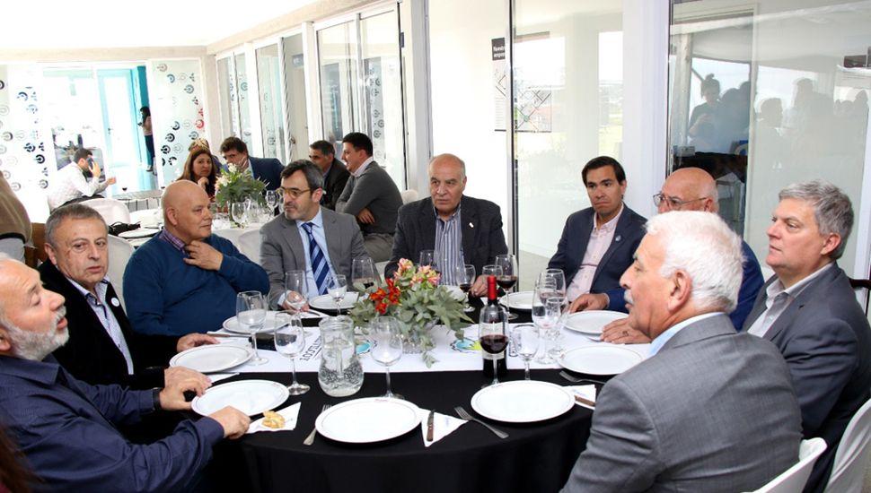 El encuentro tuvo lugar en el Centro Tecnológico de Capacitación e Innovación.