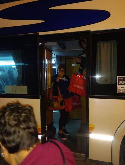 Llegaron los jubilados y pensionados que viajaron a Mar del Plata