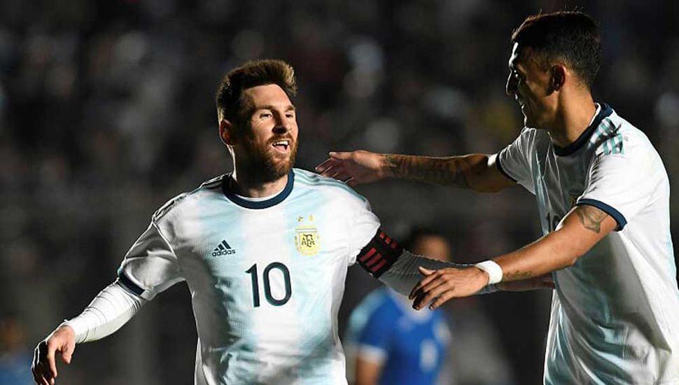 Argentina goleó a Nicaragua en el último amistoso