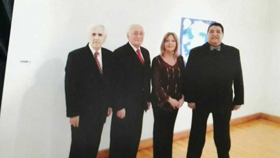La formación de Argentango: Omar Pagano, Lalo Rasia, Hilda Isaac y Jorge Micheref.