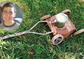 Un joven murió electrocutado cuando  cortaba el pasto en el patio de su casa
