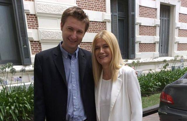 El intendente Ferraris se reunió con la vicegobernadora de la Provincia Verónica Magario.