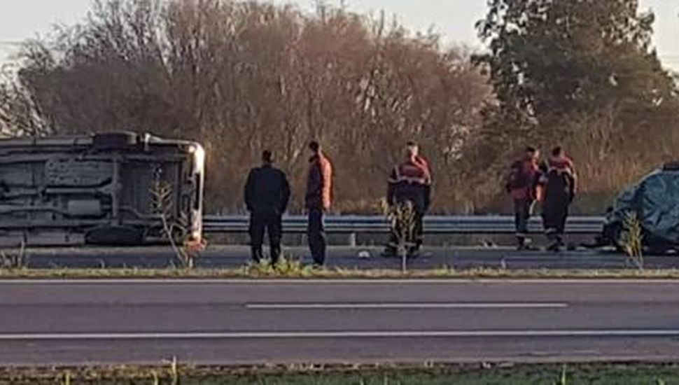 Accidente fatal en la Ruta 7: fallecieron dos vecinos de General Arenales