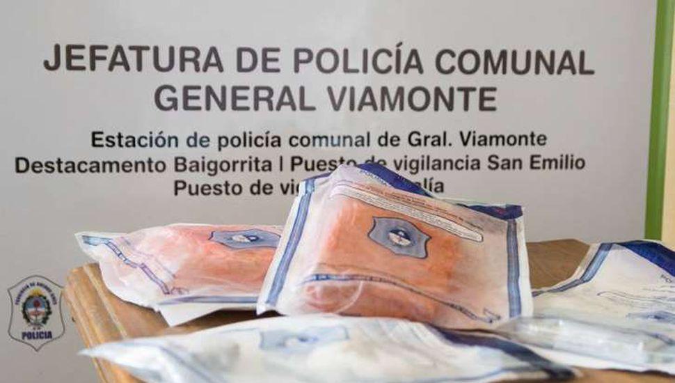 Secuestraron más de dos kilos de droga en Los Toldos