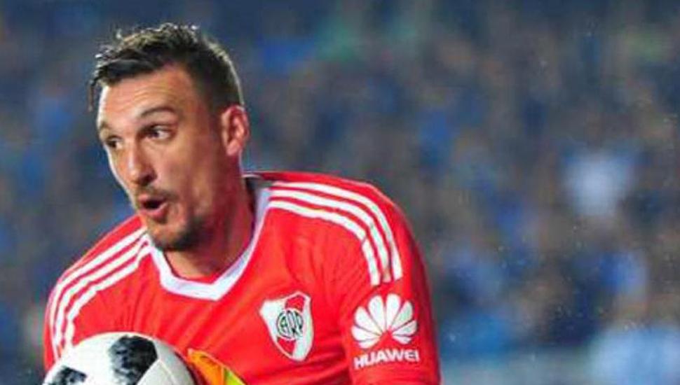 Franco Armani, arquero de River Plate con lazos familiares en Junín.