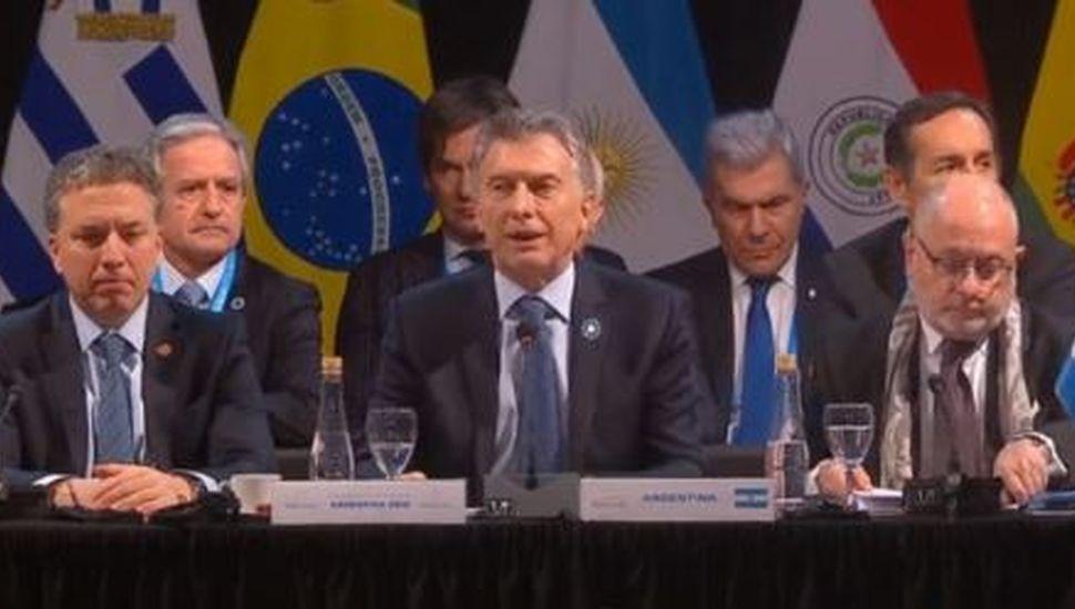 """Mauricio Macri le pidió a Maduro que """"cese con las violaciones de los Derechos Humanos"""""""