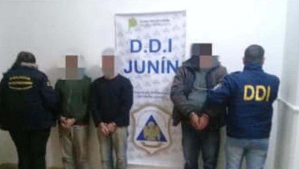 Tres detenidos por comercializar drogas en Vedia