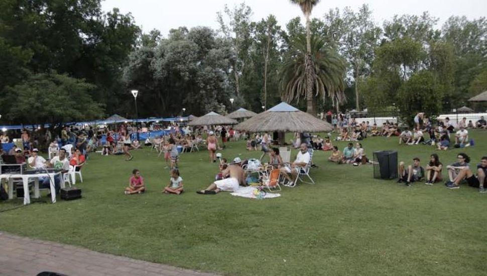 Nuevo encuentro musical en el Parque Municipal de General Pinto