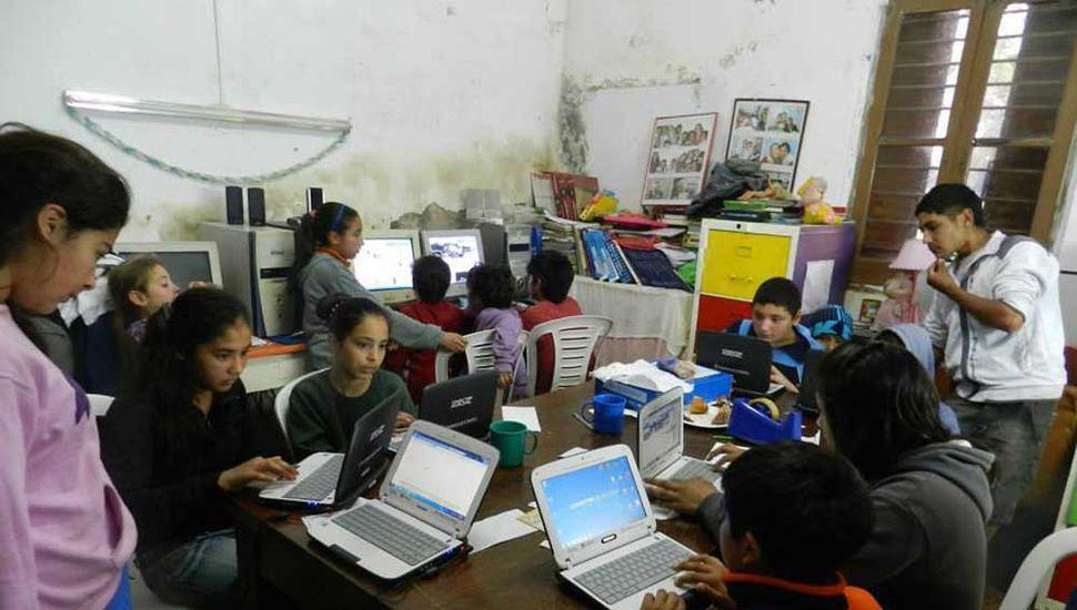 Centro Comunitario Amcipa: Contención y apoyo para los chicos del barrio Villa del Parque