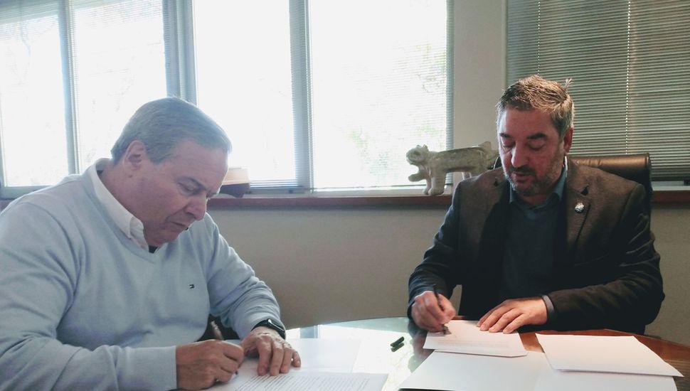Ricardo Alessandro y Guillermo Tamarit.