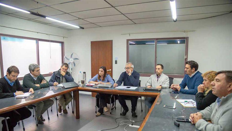 Se realizó en la Subsecretaría de Producción del Gobierno de Junín, en España 37. .