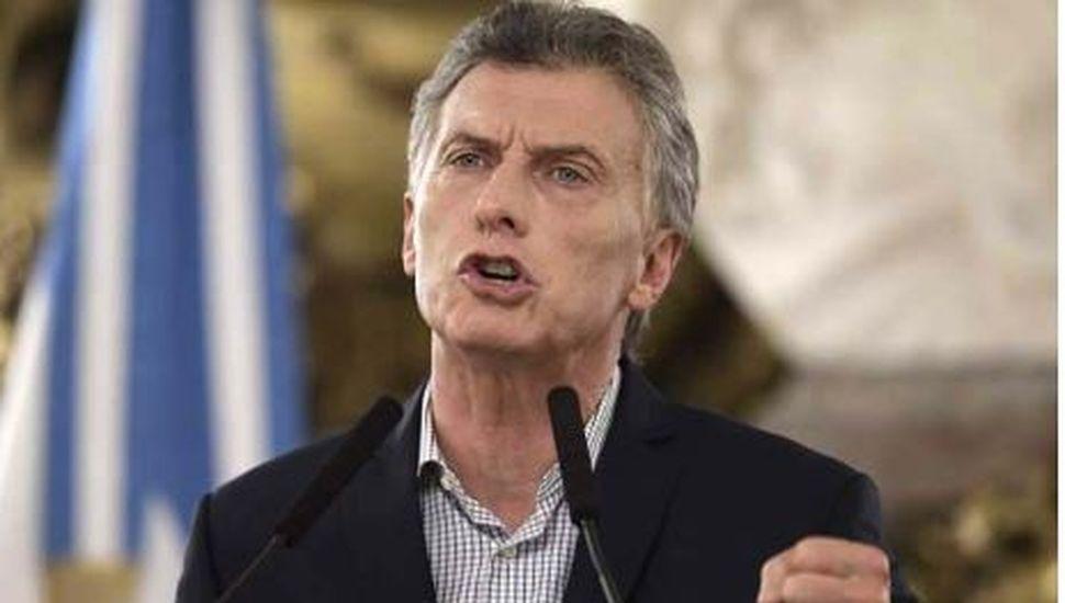 Mauricio Macri dio a conocer nuevas medidas contra la violencia de género
