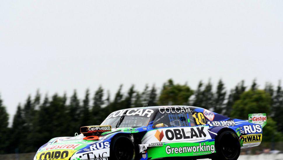 Gastón Mazzacane hizo con su Chevrolet el mejor tiempo e nla inicial tanda de clasificación del Turismo Carretera, ayer en La Plata.