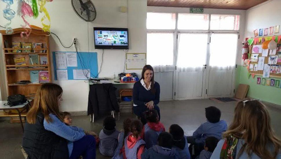 Continúan las jornadas de educación vial para los más pequeños