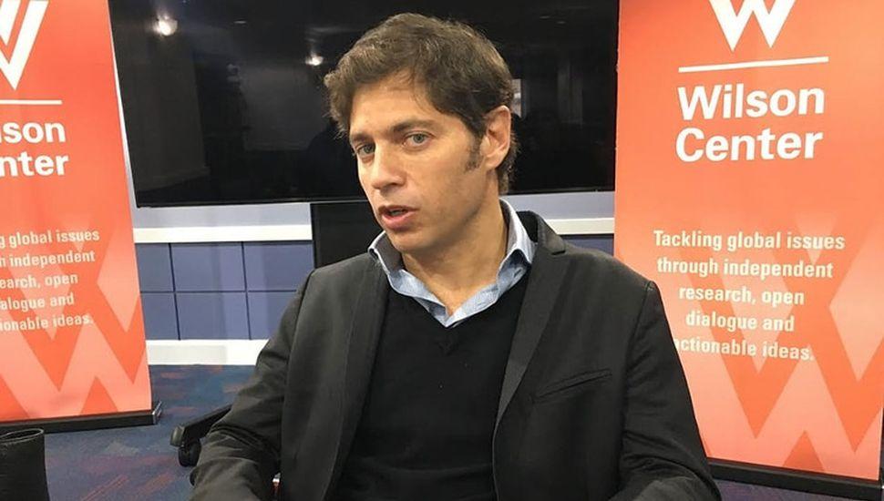 """Kicillof: """"Nadie puede querer un default"""""""