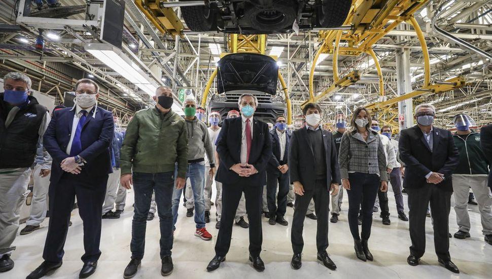 Fernández y Kicillof recorrieron Volkswagen.
