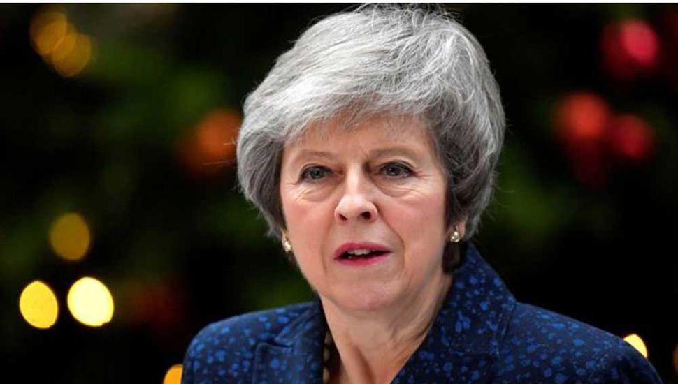 La premier británica dijo que no se discute la soberanía de Malvinas