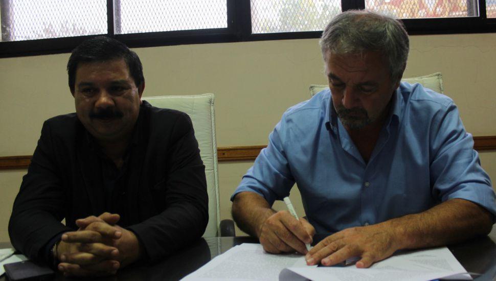Municipio y Registro del Automotor firmaron convenio para trabajar coordinadamente