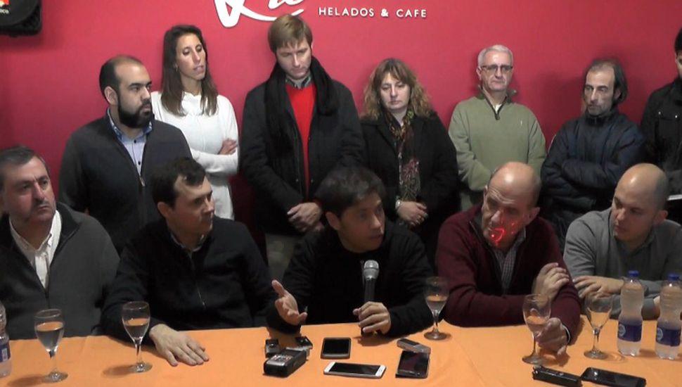 """Kicillof en Arribeños: """"Hay que cambiar las prioridades"""""""