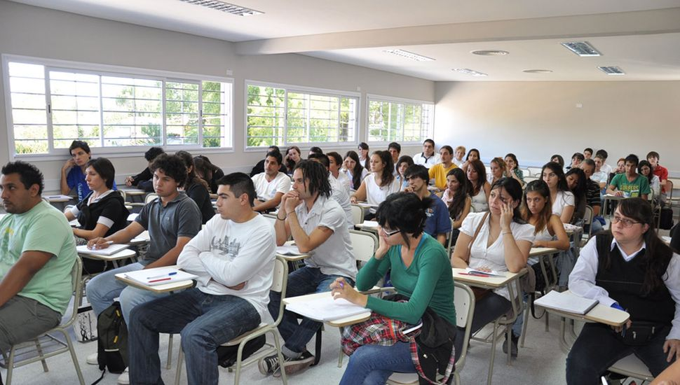 Amplia oferta para estudiantes del nivel terciario.