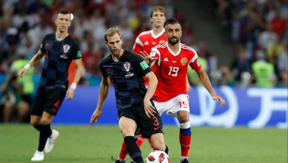 Croacia derrotó a Rusia en los penales y pasó a semifinales de la Copa del Mundo