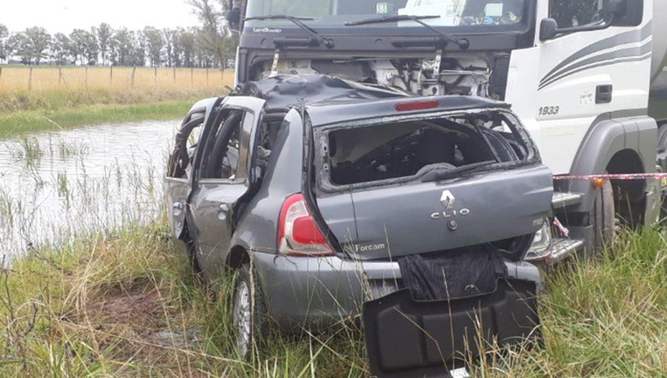 Fallecieron dos vecinas de 9 de Julio en un accidente sobre Ruta 5