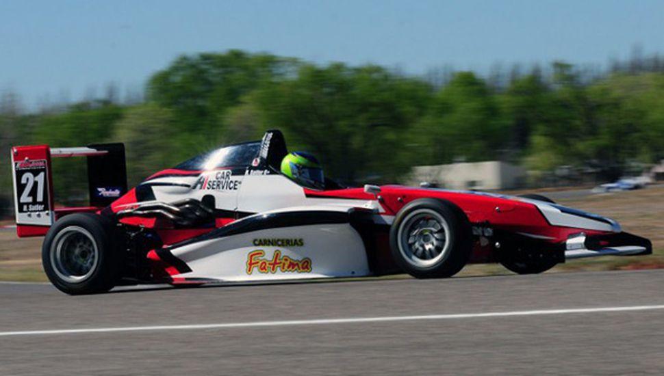 Hernán Satler estuvo al tope con el auto del equipo del Werner Competición.