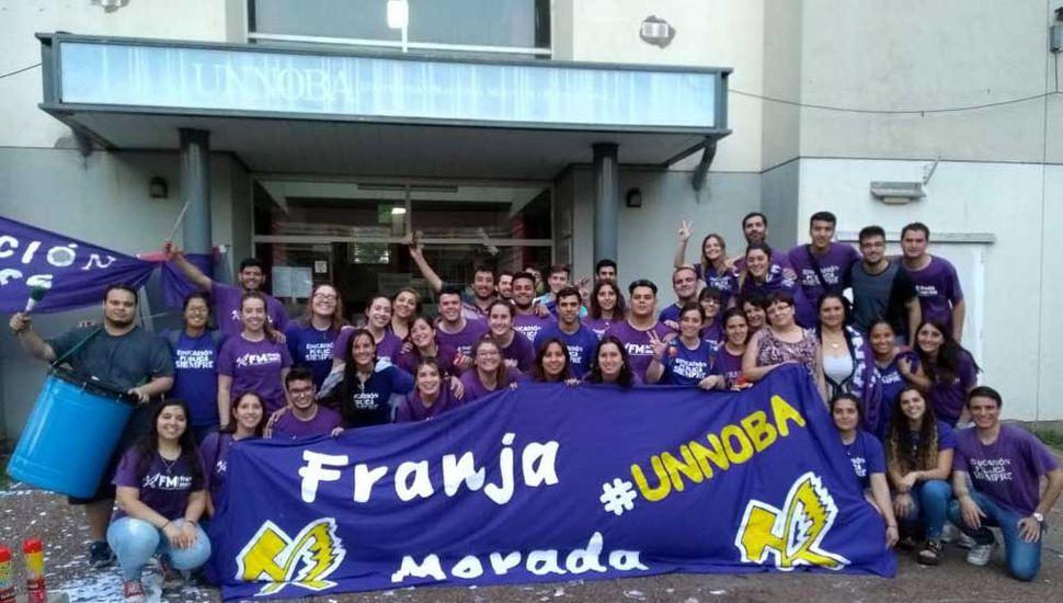 Franja Morada ganó en las elecciones de la Unnoba