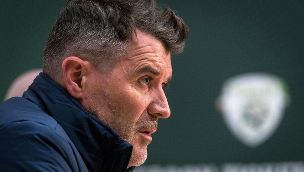 """Roy Keane, manager de República de Irlanda, """"creo que hay exceso de optimismo para el repechaje"""""""