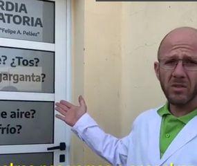 El doctor Álvarez explica en qué consiste la Guardia Respiratoria.