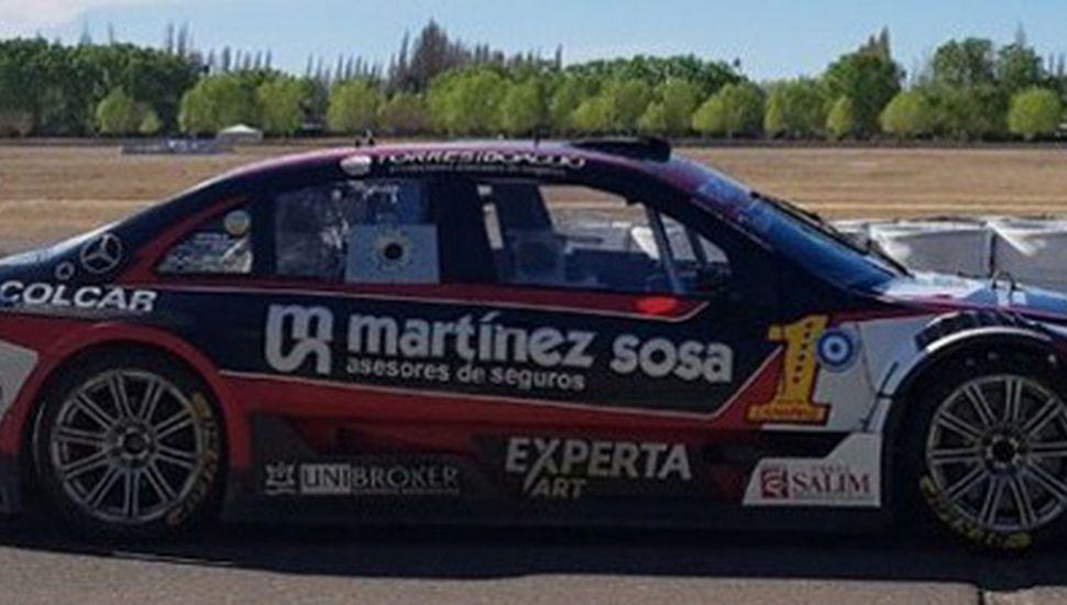 El Mercedes Benz con el cual Agustín Canapino dominó ayer en General Roca.