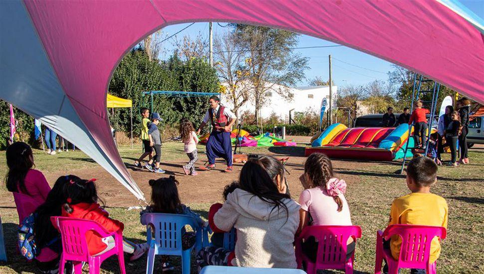 En esta oportunidad se llevó a cabo en el barrio Ramón Carrillo.