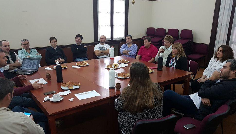 Arenales participó de un intercambio de gestión con Rivadavia