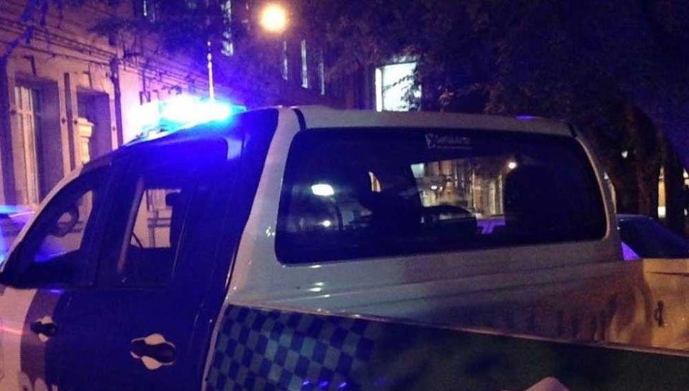 Efectivos policiales trabajaron en el lugar.