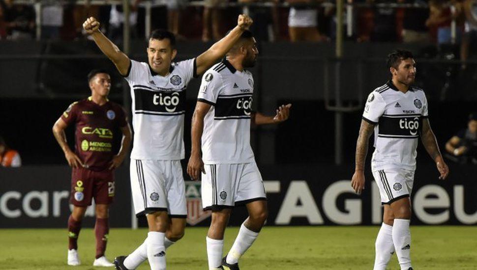 Godoy Cruz cayó en Paraguay ante Olimpia