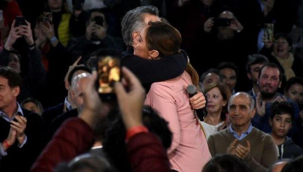 Macri y Vidal juntos en el cierre del bastión más difícil