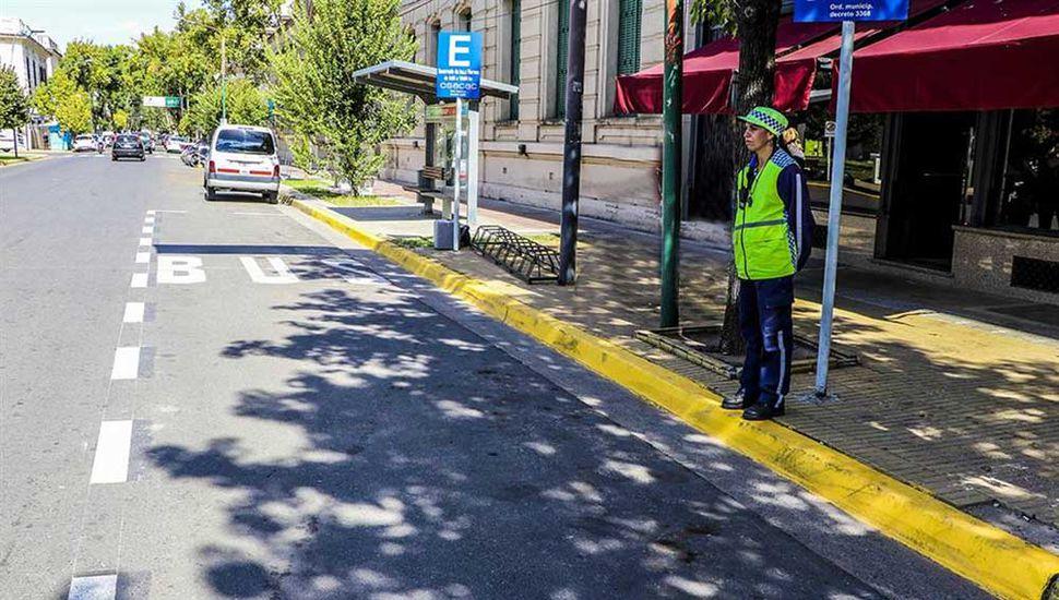 Las multas comenzarán a regir desde el 1° de abril, cuando comience a funcionar el transporte público.