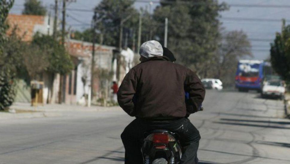 """Violento ataque """"motochorro"""" en Los Toldos"""