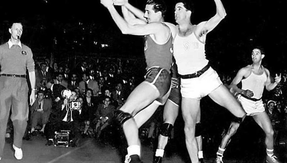 Oscar Furlong fue una gloria del básquet nacional.