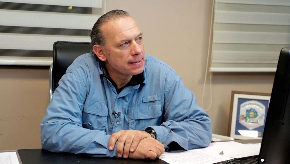 Sergio Berni cargó contra intendentes, jueces y el Servicio Penitenciario.